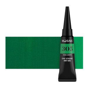 One stroke Gel - Dark green